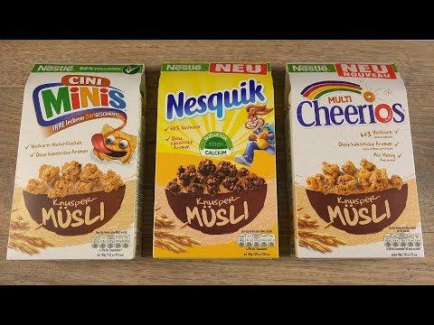 Nestle Müsli - Nesquik Cini Minis Cheerios
