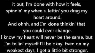 A Little Bit Stronger - Sara Evans (w/ lyrics)