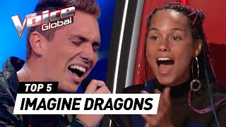 Download Lagu IMAGINE DRAGONS in The Voice [PART 2] | The Voice Global Gratis STAFABAND