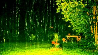 """Rain Sounds"" at Night 90mins  ""Sleep Sounds"" ASMR"
