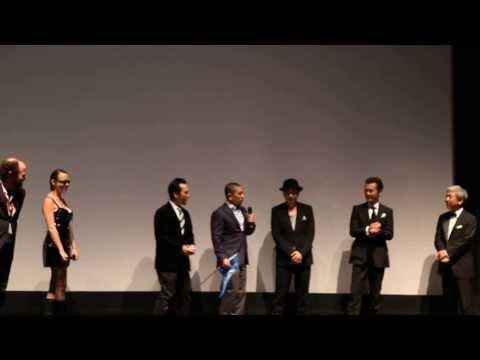 Matsumoto Hitoshi R100 @ TIFF 2013 Opening Greetings
