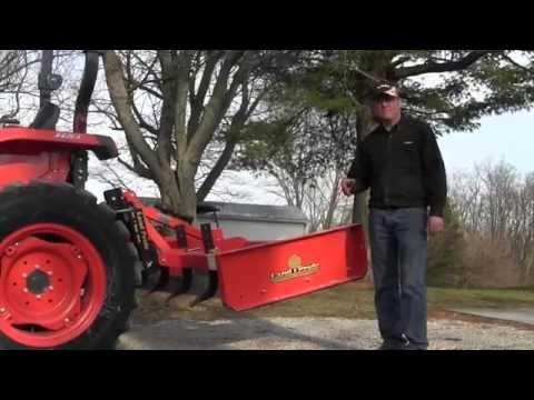 Land Pride Grader Scraper: The Driveway Tool