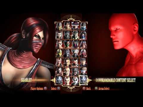 Mortal Kombat ✯ Character Select Screen Glitch