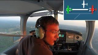 Student Pilot has Near Miss!  George saved my life.