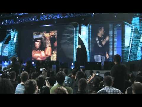 LoreHound.com - BlizzCon 2010: Chris Metzen's Geek Is... Opening Speech