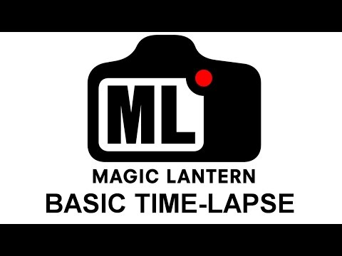 Magic Lantern timelapse tutorial.
