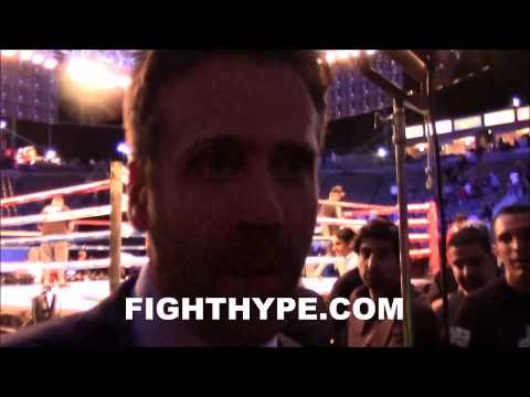 MAX KELLERMAN ANSWERS QUESTIONS ON MAYWEATHER ALI HOPKINS CANELO GOLOVKIN WARD AND MORE