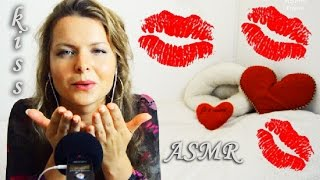 ASMR KISS SOUNDS / kissing ear to ear / FRANÇAIS / Whisper French