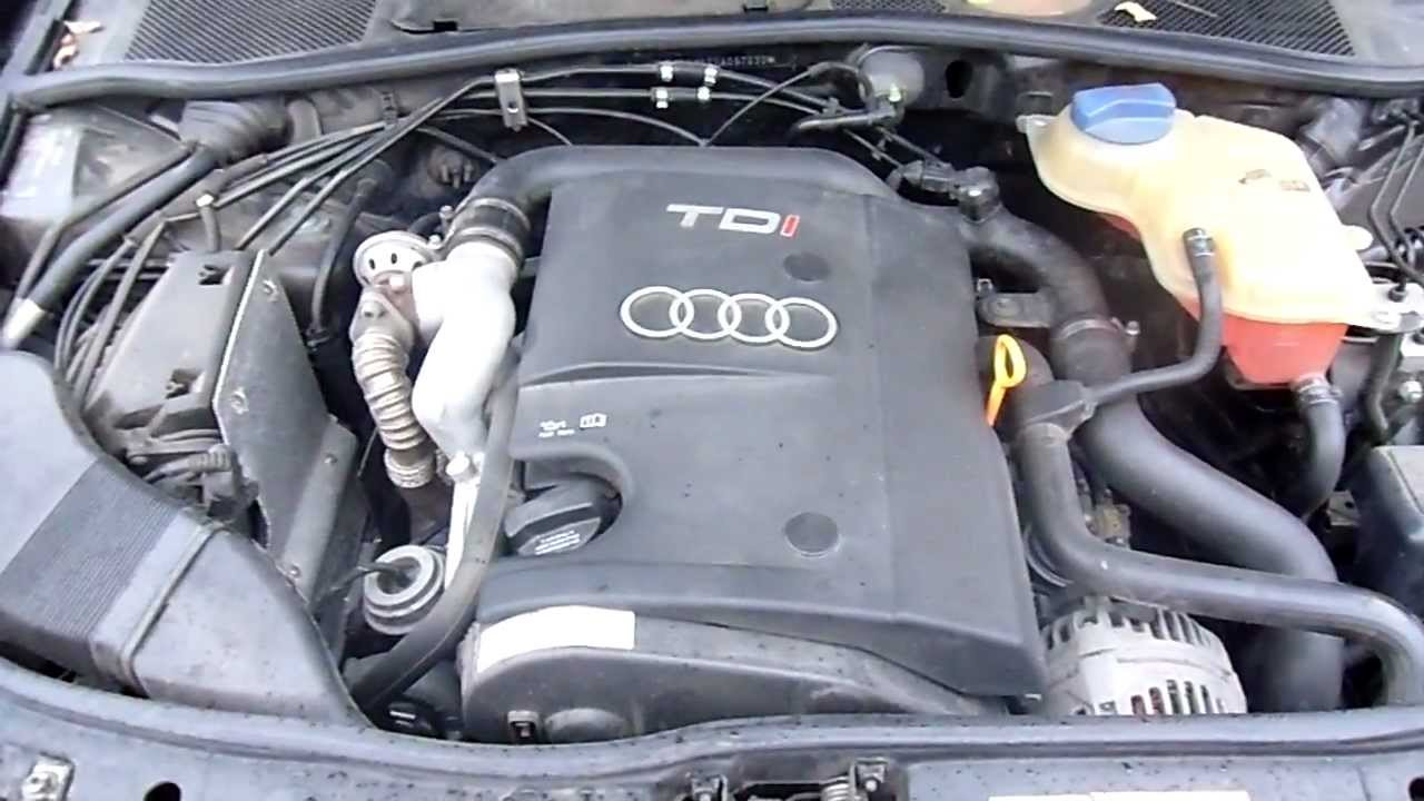 audi a4 1 9 tdi engine sound youtube. Black Bedroom Furniture Sets. Home Design Ideas