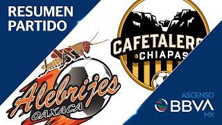 Resumen y Goles   Alebrijes vs Cafetaleros   Ascenso BBVA MX - Apertura 2019 - Jornada 4