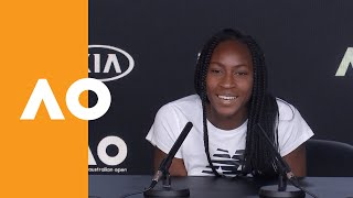 "Coco Gauff: ""I really, truly love it here!"" 