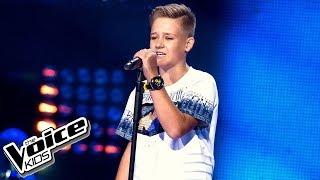 """Dominik Ciach - """"Kołysanka dla nieznajomej"""" - Przesłuchania w ciemno - The Voice Kids 2 Poland"""