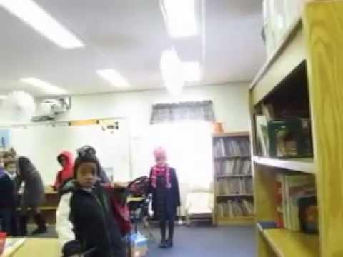 Recepção Maravilhosa dos alunos da Olney Adventist Preparatory School - 03/27/2013