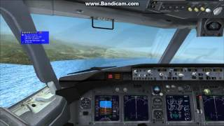 FSX Ordu-Giresun Airport Approach and Landing Part1