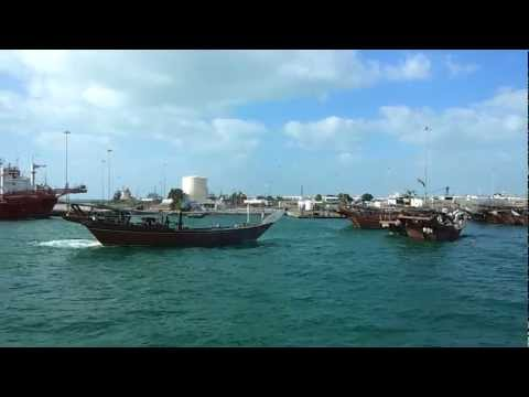 Fishing Dhows at Port Zayed, Abu Dhabi. 15.01.2013
