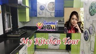 MY KITCHEN TOUR  | How To Organize Kitchen & Storage Ideas | Indian Kitchen Organization