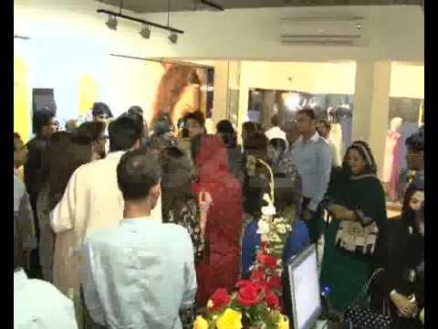 Singer Hadiqa Kiani Fabric World Store Launching Ceremony Gulberg Pkg By Zain Madni City42 video