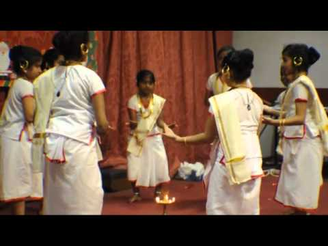 Margamkali Dance By Sunday School Students Of  St. George Universal Syrian Orthodox Reesh Church. video
