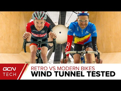 How Much Faster Is A Modern Road Bike & Kit? | Retro Vs Modern Wind Tunnel Tested