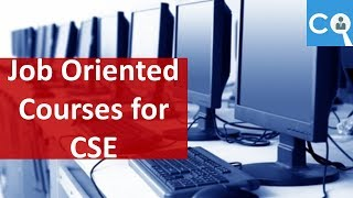 Job Oriented Courses in For Computer Science Engineers