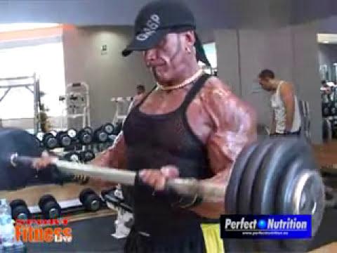 Jose Mª Forte : Entreno de Espalda y Biceps
