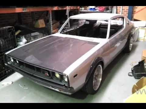 Datsun 240k To Skyline C110 Gt R Project Part 1 Youtube