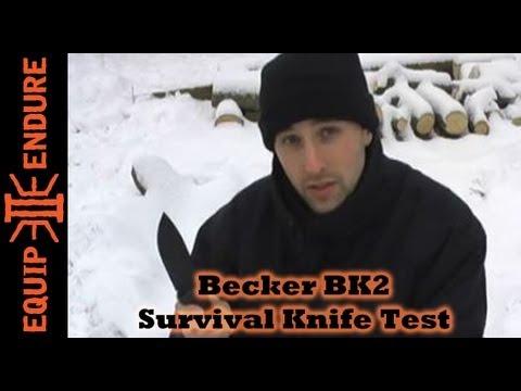 Becker BK-2: Survival Knife Test. Equip 2 Endure
