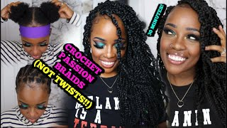 "NEW! 18"" TIANA PASSION BRAIDS, NOT PASSION TWISTS! 30 MIN! HAIR CARE UNDERNEATH PROTECTIVE STYLES!"