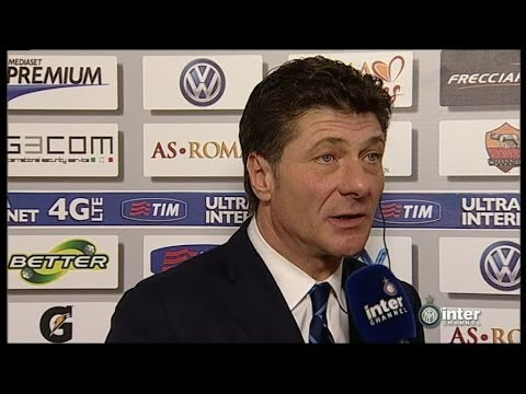 INTERVISTA WALTER MAZZARRI POST ROMA-INTER