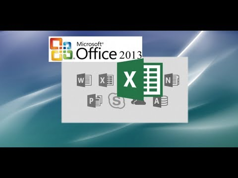 Using Excel 2013: A Full Video Tutorial on Most Features