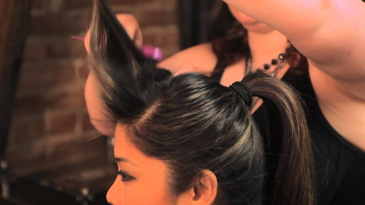 How to Do the Rockabilly Ponytail Hairstyle : Braids ...