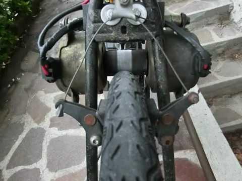 Bicicletta elettrica fai da te 540 watt youtube for Sifone elettrico per acquario fai da te
