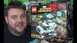 Spider-Man Homecoming - Beware the Vulture Set 76083 Lego Marvel Super Heroes Toy Review