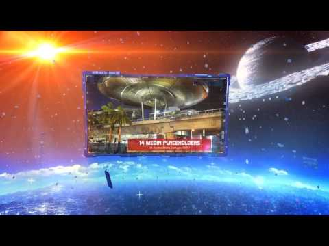 Space Slideshow| VideoHive Templates | After Effects Project Files