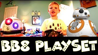 STAR WARS BB8 PLAYSET!  Fun game toy for kids, toddlers, and parents to play together. Good times.