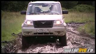 Тест UAZ Patriot 2011 Part 1