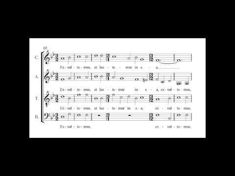 Палестрина Джованни - Dies sanctificatus