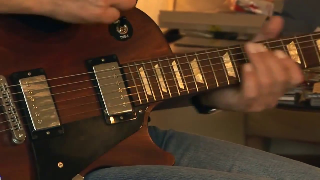 You tube les paul vintage mahagoney