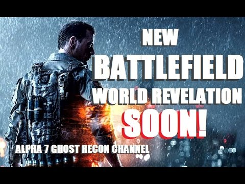 New BATTLEFIELD World revelation soon and news! /A7GRChannel LIVE!