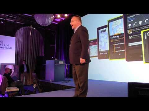Nokia CEO Stephen Elop keynote at the company s Directions Summit in San Francisco
