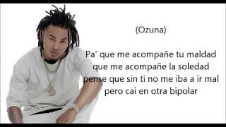 Brytiago Ft Ozuna  Bipolar (Video Letra) (Audio Oficial)