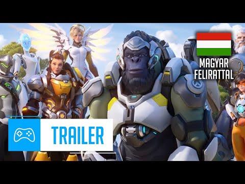 Overwatch 2 - MAGYAR feliratos bejelentő cinematic trailer BlizzCon 2019 | GameStar