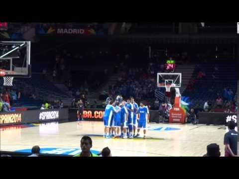 Είσοδος ομάδας με Σερβία