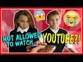 WE RE NOT ALLOWED TO WATCH YOUTUBE We Are The Davises mp3