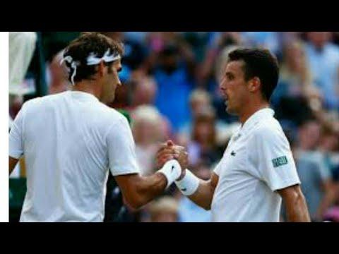 Rogers Federer vs Roberto Bautista ATP Tennis S/S