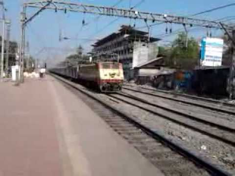 Icf Raj Livery 22203 Wap-4 With 22110 Nzm-ltt Ac Express ! video