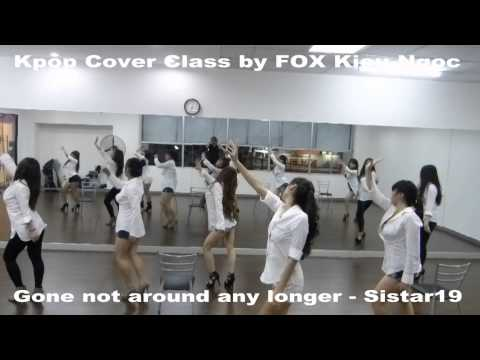 VDANCE Studio-Kpop Class by FOX- Gone not around any longer Sistar19