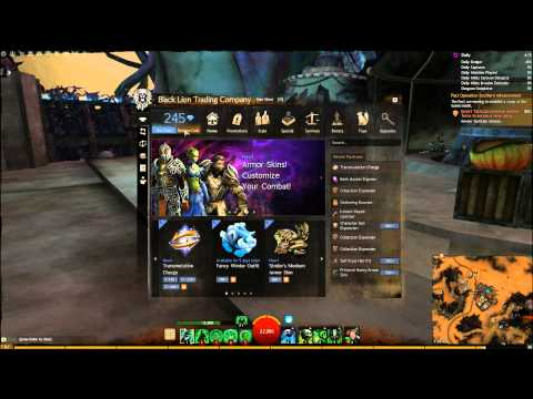Guild Wars 2 : How to trade Gold for Gems