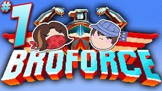 Broforce: Famous Bros - PART 1 - Steam Train