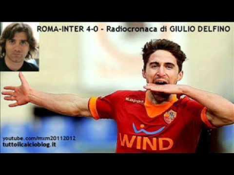 ROMA-INTER 4-0 – Radiocronaca di Giulio Delfino (5/2/2012) da Tutto il calcio minuto per minuto